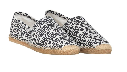 Dstrezzed - Espadrille Graphic Printed Canvas