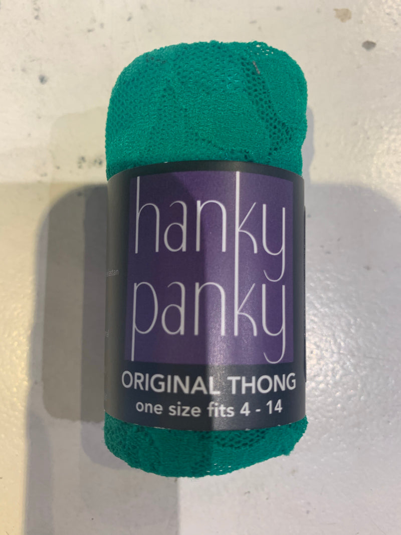 Hanky Panky - Signature Lace Original Fit Thong - Garland Green