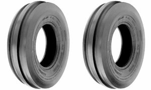 (2) TWO- New 4.00-19 TRI RIB 4PLY  Front Tractor CropMaster TUBE TIRES