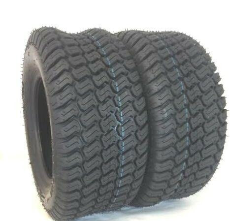(2) TWO - NEW 18X9.50-8 4PLY RATED HEAVY DUTY S TURF LAWN TIRES