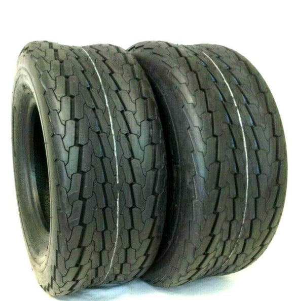 2 New 18.5X8.50-8 Heavy Duty Trailer Tire 4 ply 18.5X8.5-8 FREE SHIPPING!!