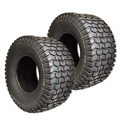 TWO 4.10/3.50-4 410/350-4 Turf Lawn Mower Go Kart TIRES 4 PLY 410 350 4