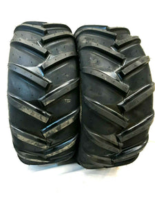 (2) TWO- NEW 20X8.00-10 MAG 22 R1 LUG LAWN & TRACTOR TIRES