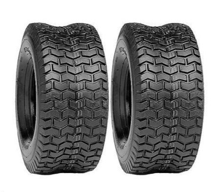 (2) TWO- NEW 4.10/3.50-4 4PR  LAWN MOWER TURF GO KART TIRES