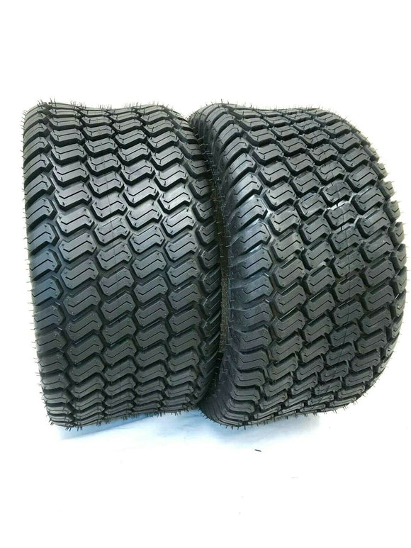 (2) TWO - NEW 16X6.50-8 4PLY RATED TURF LAWN TIRES