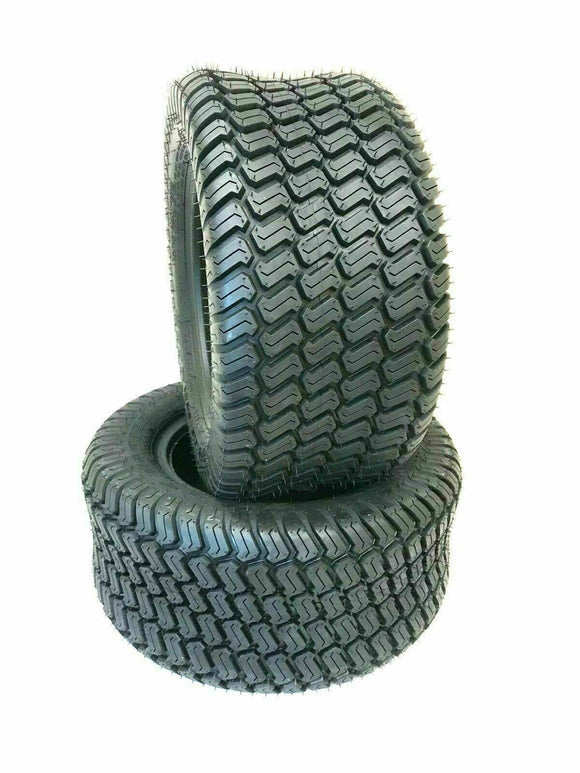 (2) TWO NEW- 15X6.00-6 Turf Lawn Mower TIRES Front Lawn Tractor Tires