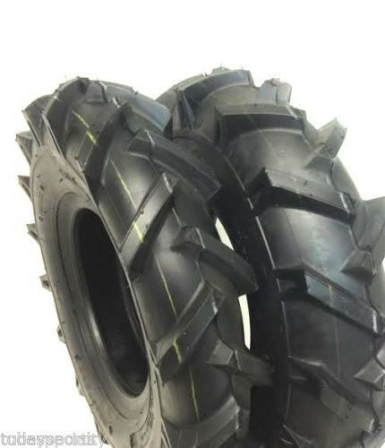 (2) TWO- NEW 4.00-8/4.80-8   R1 HEAVY DUTY LUG TIRES
