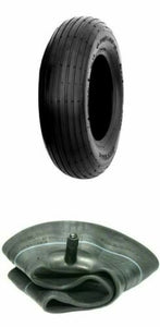 (1) ONE- NEW 3.50-8 LAWN & GARDEN WHEELBARROW TIRE AND TUBE