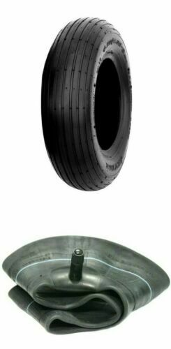 (1) ONE- NEW 4.80/4.00-8 LAWN & GARDEN WHEELBARROW TIRE AND TUBE
