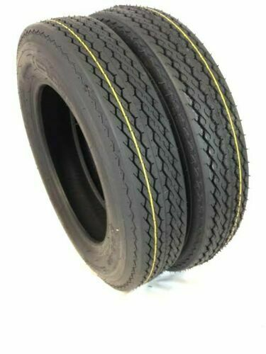 (2) TWO- NEW 4.80-8 Heavy Duty  6PR Load Range C BOAT TRAILER TIRES