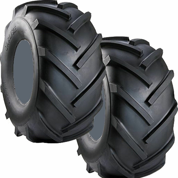 2 NEW 14X4.50-6 2 Ply 14 450 6 Carlisle Super Lug Lawn Tractor Tire