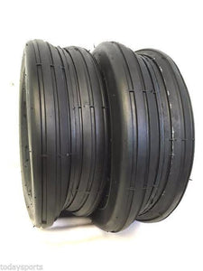 TWO New 13X6.50-6 Smooth Rib Tires 4 ply Smooth Ribbed FREE SHIPPING!!