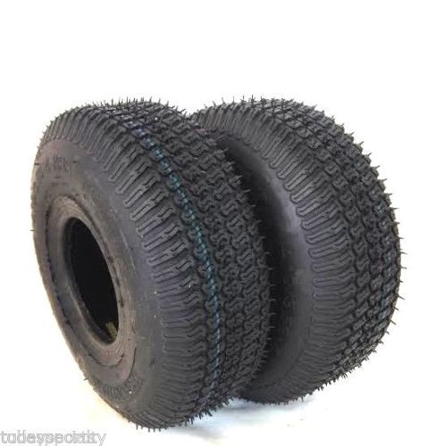 (2) TWO NEW- 13x5.00-6 4PR Turf Trac Lawn Mower Tubeless TIRES