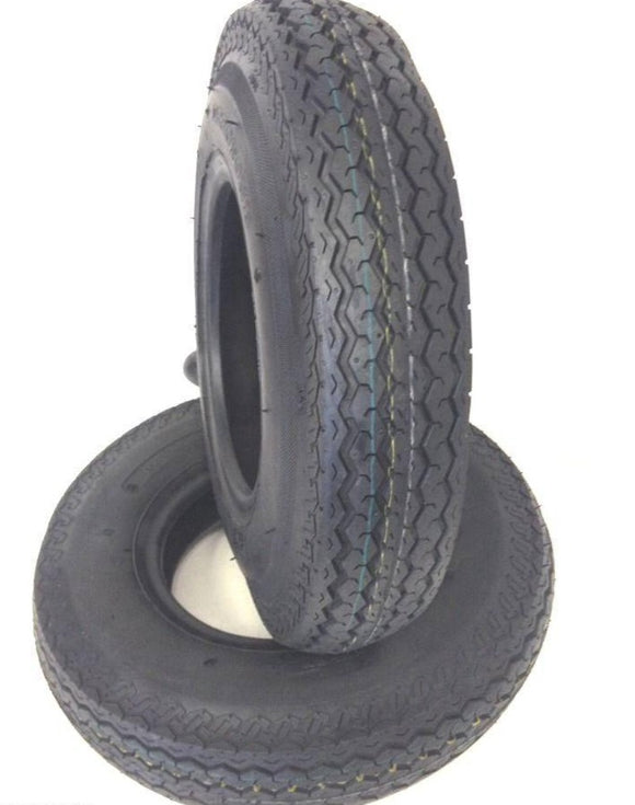 2 (TWO) 530-12 5.30-12 6 PLY RATED Hiway Speed Trailer Service Tires Loadmaxx