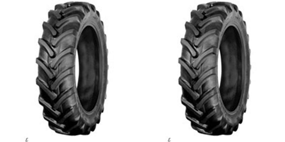 (2)TWO- NEW 7x14 R1 6PLY HEAVY DUTY TUBELESS TRACTOR TIRES