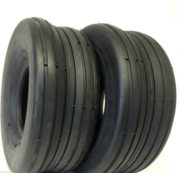 TWO 15X6.00-6, 15-6.00x6 HAY TEDDER LAWN Tires  HEAVY DUTY 15/6.00-6
