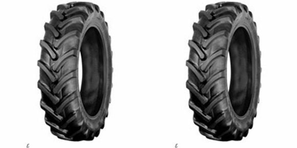 (2) TWO- NEW 7x16 6PLY AG R1 LUG Compact Tractor TUBELESS TIRES
