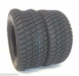 (2) TWO NEW-  15X6.00-6 4PR Trac Turf Lawn Mower TIRES