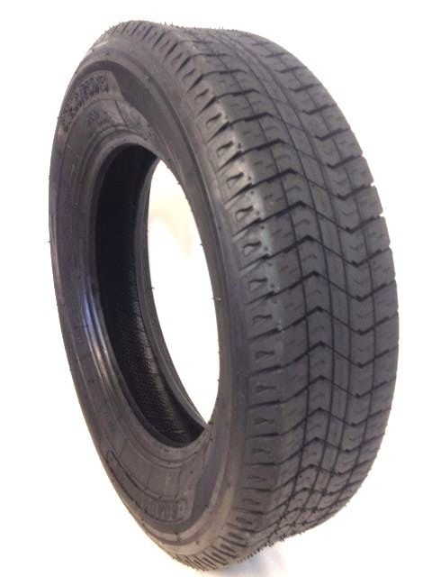 (4) FOUR- NEW ST 205/75D15 ROAD GUIDER 6 PR BIAS TRAILER TIRES