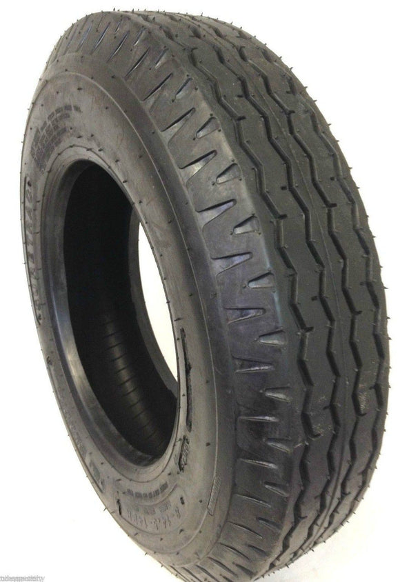 (4)  FOUR- NEW 8-14.5  14PLY RATED HEAVY DUTY TRAILER TIRES