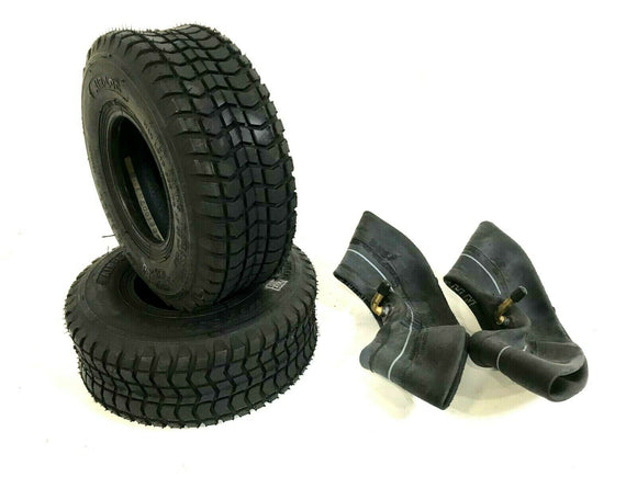 2pcs 9 x 3.50-4 Tire & Tube for Skateboard Scooter Go Kart ATV Bike Mower Lawn