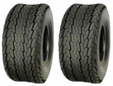 (TWO) 20.5x8-10 20.5x8.0-10 PONTOON BOAT 6 PR Load C Heavy Duty Trailer Tire