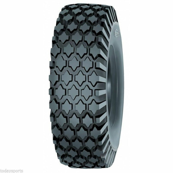 (2) TWO- NEW 4.80/4.00-8  DEESTONE STUD TUBELESS TIRES