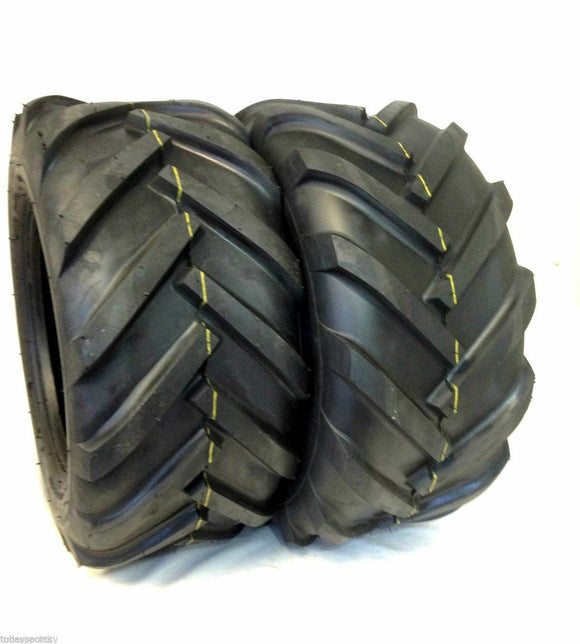 (2) TWO NEW- 16x6.50-8 4PLY LUG AG TIRES