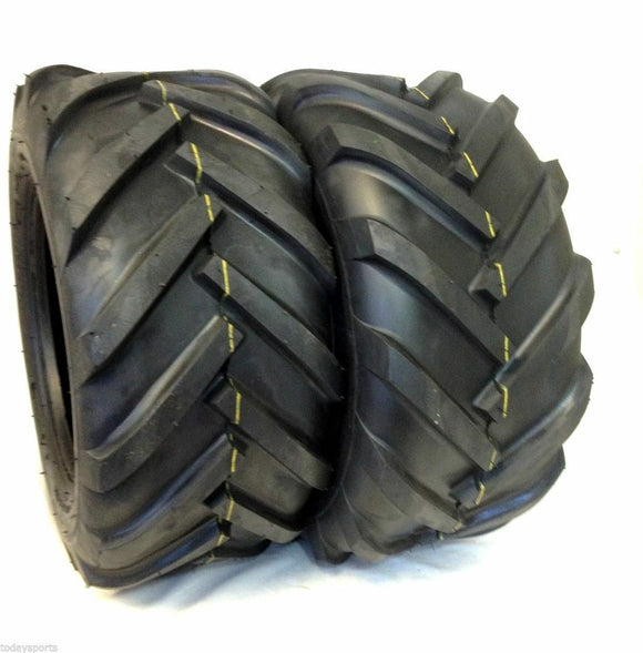 TWO- 26x12.00-12 Deestone 10 Ply D408 Super Lug Tires PAIR AG 26x12-12 26 12 12