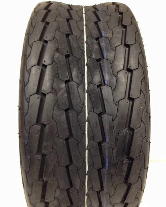 (TWO) 20.5x8-10 20.5x8.0-10 PONTOON BOAT 10 PR Load E Heavy Duty Trailer Tire