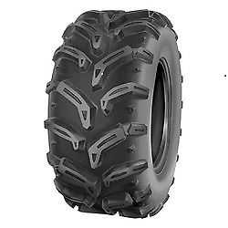 (2) TWO- NEW  25X12.00-9  DEESTONE 6PLY ATV SWAMP WITCH TIRES