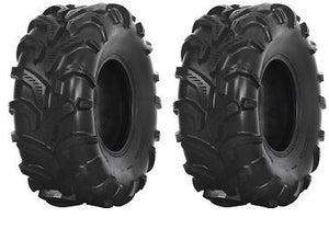 (2) 25x11.00-12 25x1100-12 25/11.00-12 25/1100-12 Outlaw D985 ATV TIRE 6ply