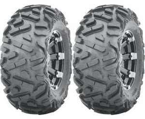 Two New UTV ATV Tires AT 26x11-14 26 11 14 K9 Heeler 6 Ply Heavy Duty