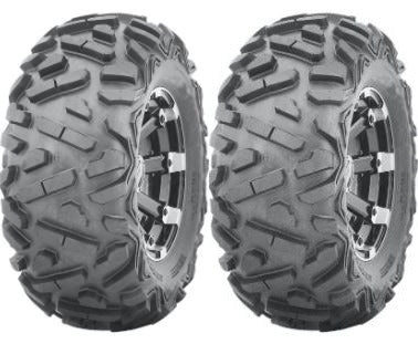 Two New UTV ATV Tires AT 27x9-14 27 9 14 K9 Heeler 6 Ply Heavy Duty