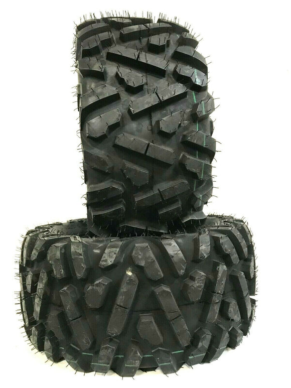 Two New UTV ATV Tires AT 27x11-14  27x11x14 K9 Heeler 6 Ply Heavy Duty