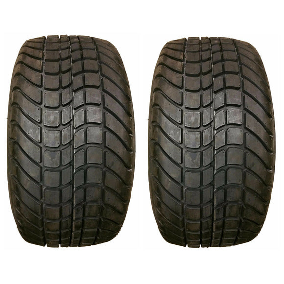 (2) TWO- New  205/50-10 4PLY Golf Cart Tires EZGo