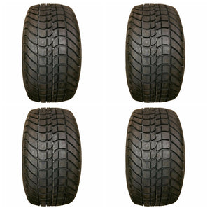Set of 4 New  205/50-10 205x50-10 4 Ply  Golf Cart Tires  EZGo