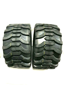 TWO- 18X8.50-10 4P OTR Garden Master Tires Lug R-4 R4 FREE SHIP Skid 18x8.5-10