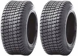 (2) TWO - NEW 18X8.50-10 4PLY RATED HEAVY DUTY TURF LAWN TIRES