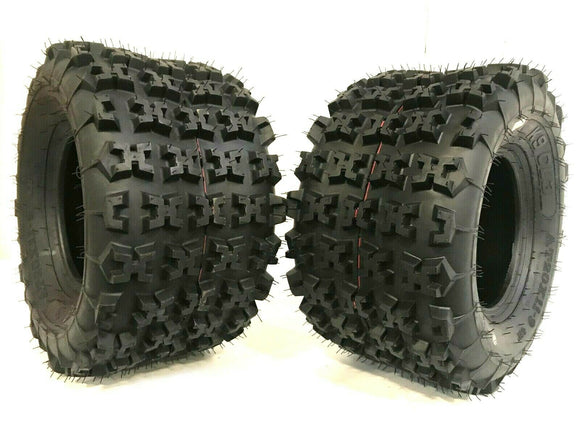 Two New 22x11-9 ATV Tires 22x11x9 Race Tubeless 6 PR K9 CL3 RAZR style GNCC