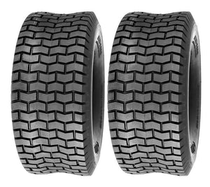 SET OF 2 15X6X6 15X6.00-6 Turf Tires Garden Tractor Lawn Mower Riding Mower