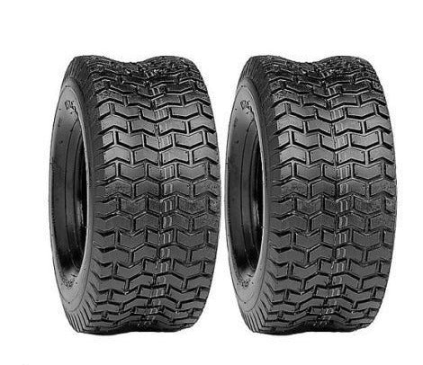 2 (TWO) 16x6.50-8 Turf Tires 4 PR Tubeless Lawn Mower Tires