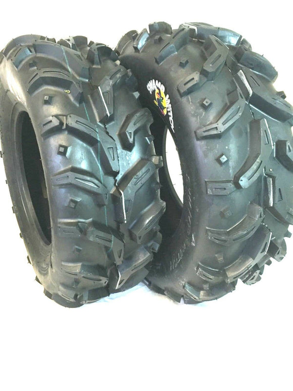 2 - 25X10-12 SWAMP WITCH ATV TIRES 1 PAIR DS7931 25x10.00-12 25/10-12 25/10.0-12