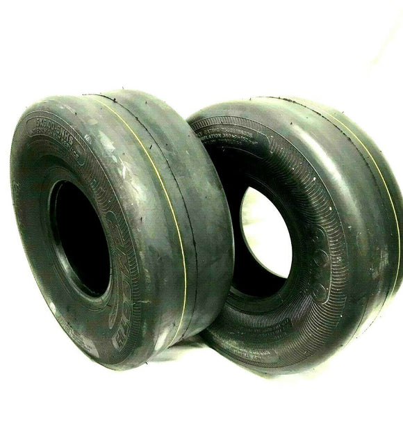 2-9x3.50-4 4PR Smooth Tire 9x3.50x4 For Caster Wheel Toro Exmark John Deere Scag