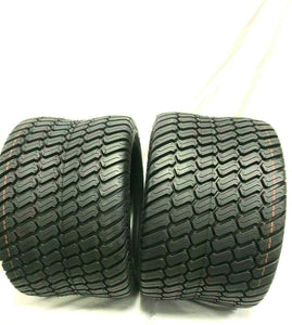 Set TWO - 18x10.50-10 Grassmaster Style 4 Ply Rated Heavy Duty 18x10.50-10 NHS