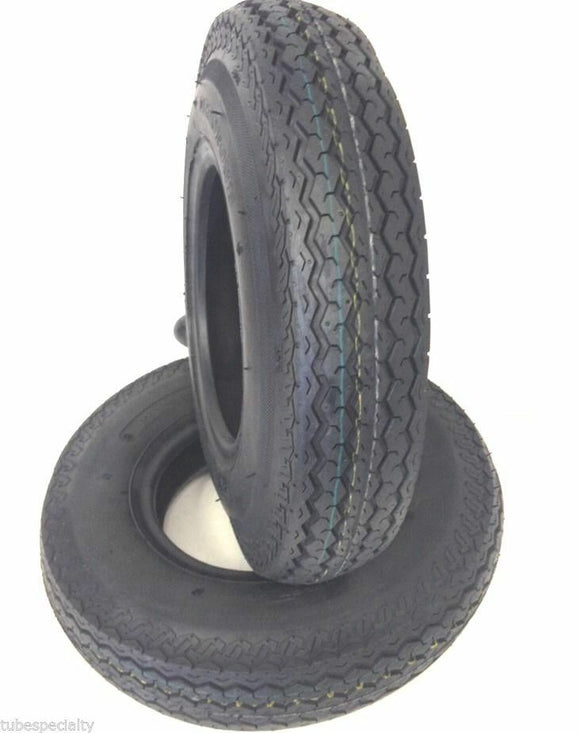 195/75-14 Two New Deestone D622 Tubeless DOT Trailer Tires 1957514 195/75R14