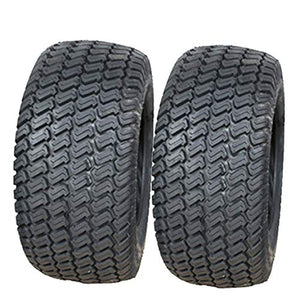 (TWO) 11X4.00-4 Lawn  11X4.00X4 11x400-4  4PLY Tbls P332 Turf Lawn Mower Tires