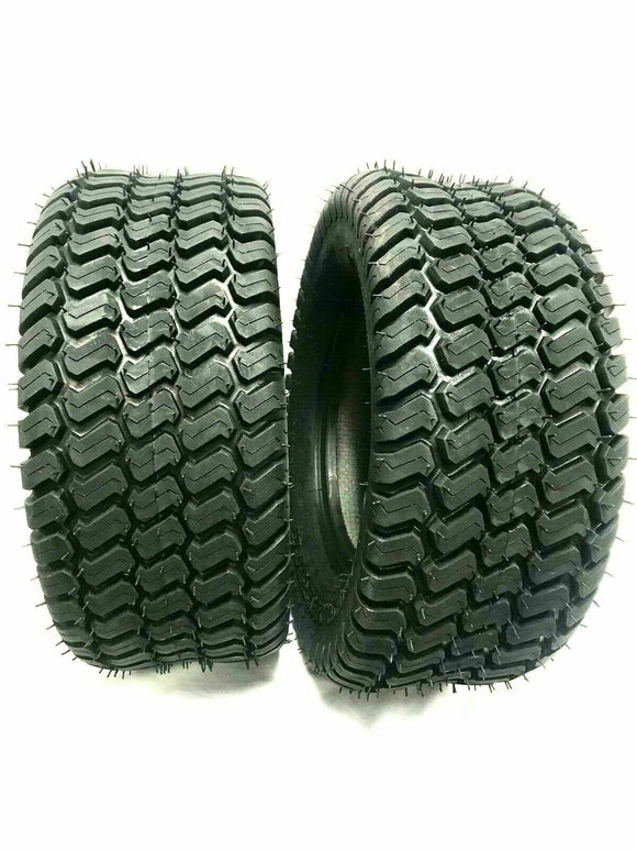 (2) TWO- NEW 22x11.00-10  4PLY RATED HEAVY DUTY S TURF TIRES