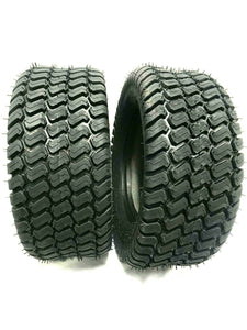 TWO- 20x8.00-10 OTR GrassMaster Tires Turf Master 4Ply Heavy Duty 20x8-10