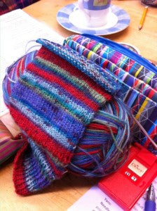 Sunshine Coast knitting